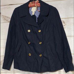 J Crew; Navy Blue Blazer; Jacket; 10